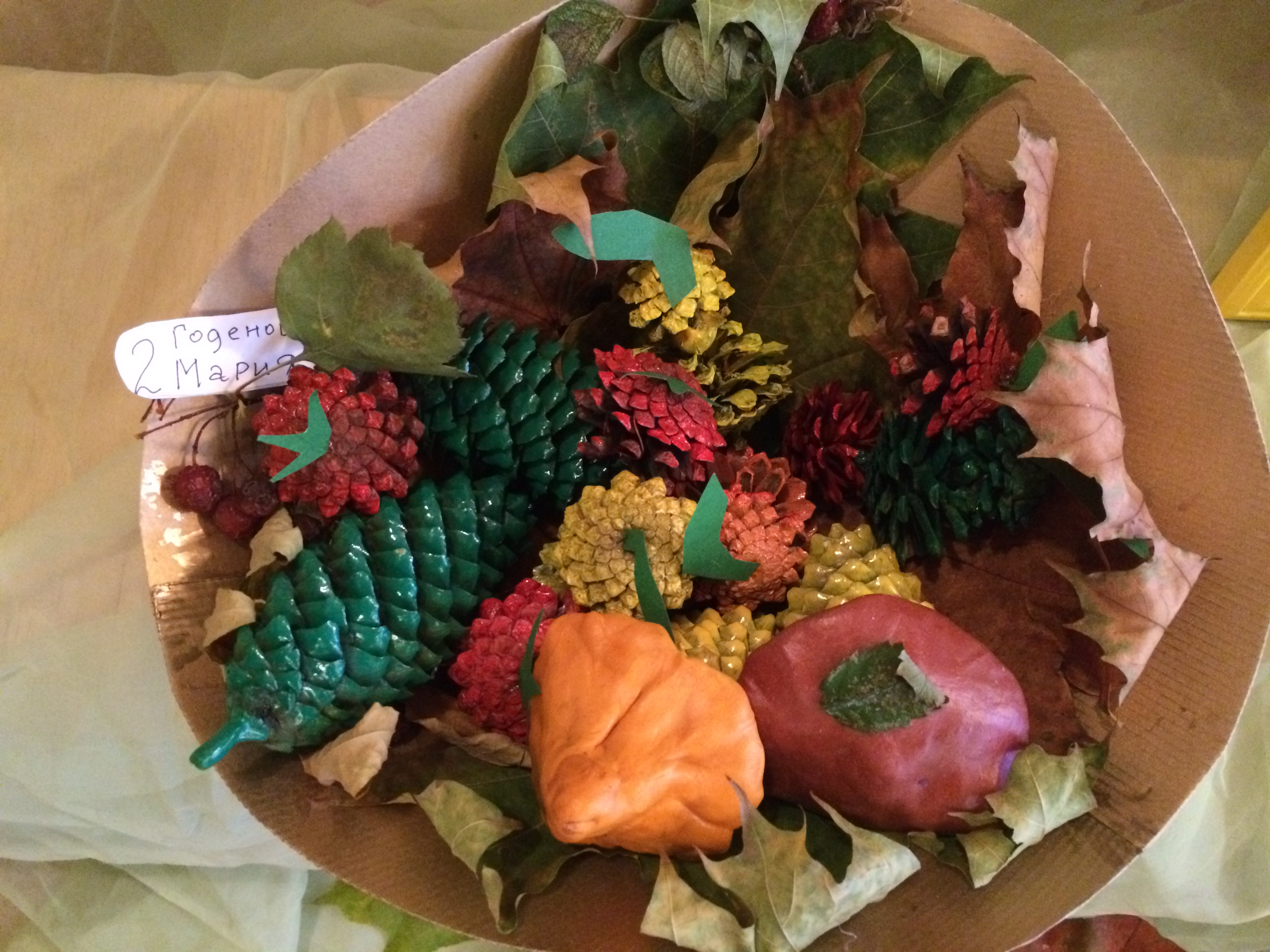 Поделки из фруктов и ягод фото
